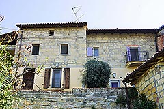 Group of Stone Houses for sale in Piemonte - Back view