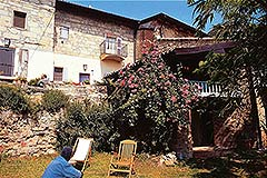 Group of Stone Houses for sale in Piemonte - Garden area