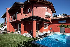 Luxury Villa for sale Piemonte Italy - Back view