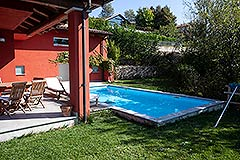 Luxury Villa for sale Piemonte Italy - Pool area