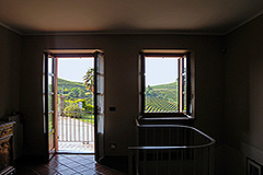 Character Country Home for sale in the Langhe Piemonte - First floor entrance