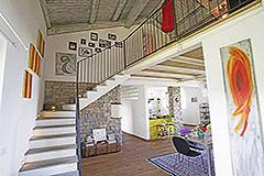 Restored Langhe Stone Farmhouse  in Piemonte - Spacious interior
