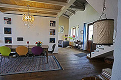 Restored Langhe Stone Farmhouse  in Piemonte - Living area