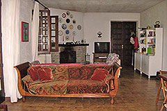 Italian Villa for sale in Piemonte - Living area