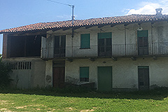 Country Estate for restoration in Piemonte - View of Farmhouse