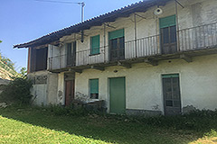 Country Estate for restoration in Piemonte - Farmhouse
