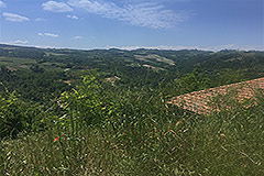 Country Estate for restoration in Piemonte - Panoramic position