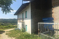 Country Estate for restoration in Piemonte - Side view