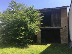 Restored House and Stone Barn For Sale in Piemonte Italy - Barn