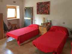 Restored House and Stone Barn For Sale in Piemonte Italy - Bedroom