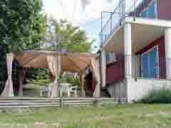 Landhaus zum Verkauf im Piemont - Terrace area