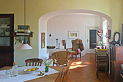 Two Country Houses for sale in Piemonte - Dining area