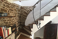Two Country Houses for sale in Piemonte - Stairs