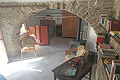 Two Country Houses for sale in Piemonte - Living area