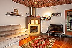 Italienisches Bauernhaus zum Verkauf im Piemont - Living area