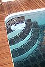 Italienisches Bauernhaus zum Verkauf im Piemont - Pool area