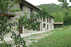 Restored Langhe Stone farmhouse for sale in Piemonte - Front view