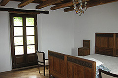 Restored Langhe Stone farmhouse for sale in Piemonte - Bedroom
