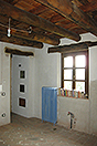 Restored Langhe Stone farmhouse for sale in Piemonte - Cotto floor tiles