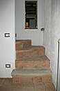 Restored Langhe Stone farmhouse for sale in Piemonte - Original stairs