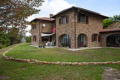 Italian Country House for sale in Piemonte - Front View