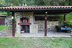 Italian Country House for sale in Piemonte - Outside Oven