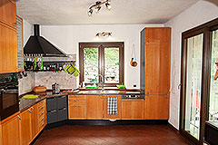 Italian Country House for sale in Piemonte - Kitchen area