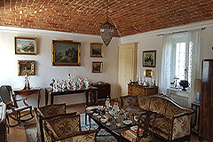 Farmhouse for sale in Piemonte Italy - Vaulted ceiling