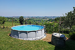 Farmhouse for sale in Piemonte Italy - Pool