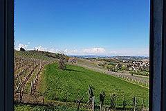 Farmhouse for sale in Piemonte Italy - Views