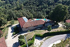 Luxury Country home for sale in Piemonte Italy - L shaped property