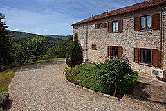 Luxury Country home for sale in Piemonte Italy - Side view