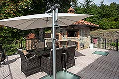 Luxury Country home for sale in Piemonte Italy - Terrace