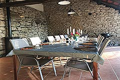 Restored Country House for sale in Piemonte - Alfresco dining