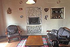 Italian village house for sale in Piemonte. - Living area