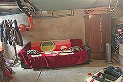 Italian village house for sale in Piemonte. - Basement