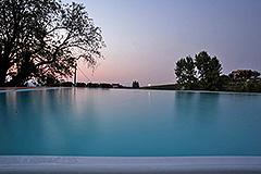 Tenuta di campagna in vendita in Piemonte - Pool