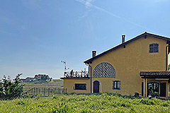 Tenuta di campagna in vendita in Piemonte - Side view