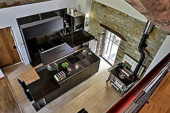 Langhe Stone Farmhouse with Infinity Swimming Pool - Kitchen area