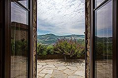 Langhe Stone Farmhouse with Infinity Swimming Pool - Views