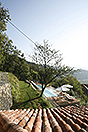 Langhe Stone Farmhouse with Infinity Swimming Pool - View of pool
