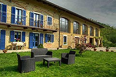 Country Estate  for sale in Piemonte Italy - Front view