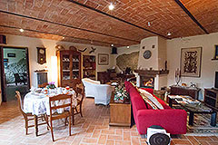 Country Estate  for sale in Piemonte Italy - Dining area
