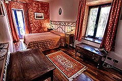 Country Estate  for sale in Piemonte Italy - Bedroom