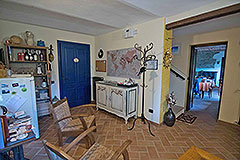 Country Estate  for sale in Piemonte Italy - Living area