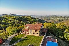 Luxury Stone House for sale in Piemonte Italy - Private position