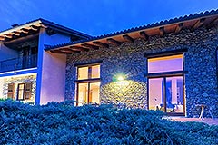 Luxury Stone House for sale in Piemonte Italy - Front view