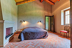 Luxury Stone House for sale in Piemonte Italy - Bedroom