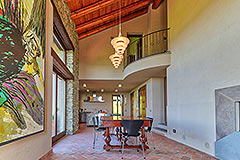 Luxury Stone House for sale in Piemonte Italy - Dining area