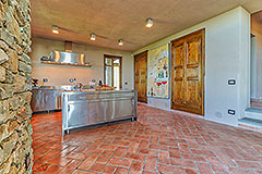 Luxury Stone House for sale in Piemonte Italy - Spacious Kitchen